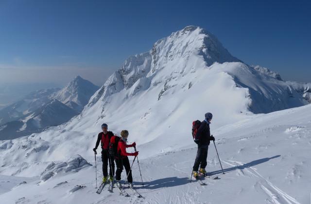 Foto: Wolfgang Lauschensky / Skitour / Scheiblingstein 2197m (hohe Variante aus dem Pyhrgasgatterl) / Pyhrgas - Ostgrat / 23.02.2012 14:51:04