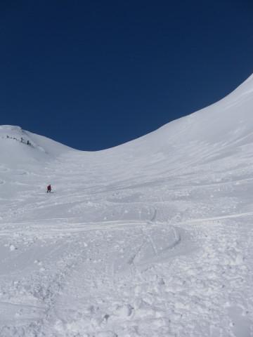Foto: Wolfgang Lauschensky / Skitour / Scheiblingstein 2197m (hohe Variante aus dem Pyhrgasgatterl) / Lange Gasse / 23.02.2012 14:49:52
