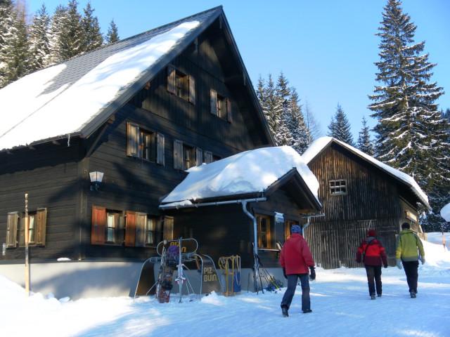 Foto: Wolfgang Lauschensky / Skitour / Scheiblingstein 2197m (hohe Variante aus dem Pyhrgasgatterl) / Bosruckhütte / 23.02.2012 14:48:08
