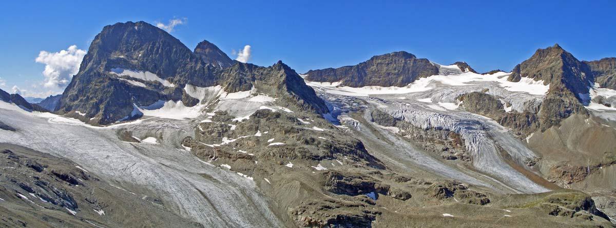 Foto: vince 51 / Wandertour / Von der Bielerhöhe auf den Vermuntkopf  / Piz Buin und Ochsentaler Gletscher / 04.05.2012 21:47:59
