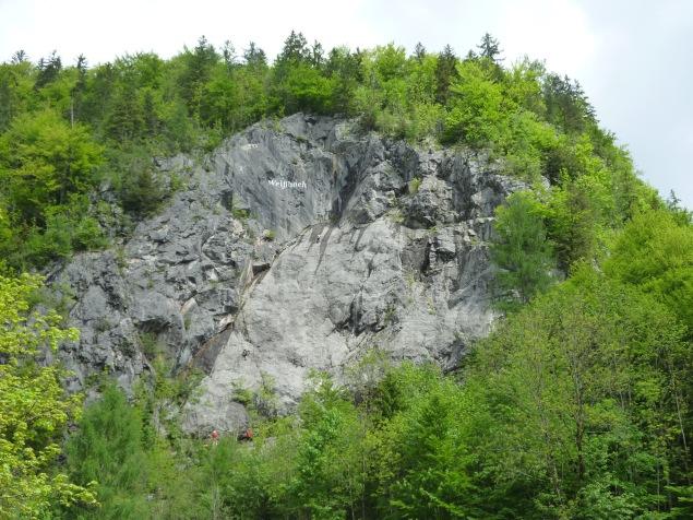 Klettersteig Zahme Gams : Klettersteig zahme gams und seisenbergklamm am