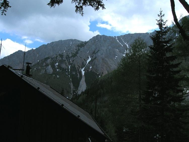 Foto: Andreas Koller / Klettertour / Nandlgrat auf das Schneebergplateau (1974m) / 21.05.2012 23:28:52