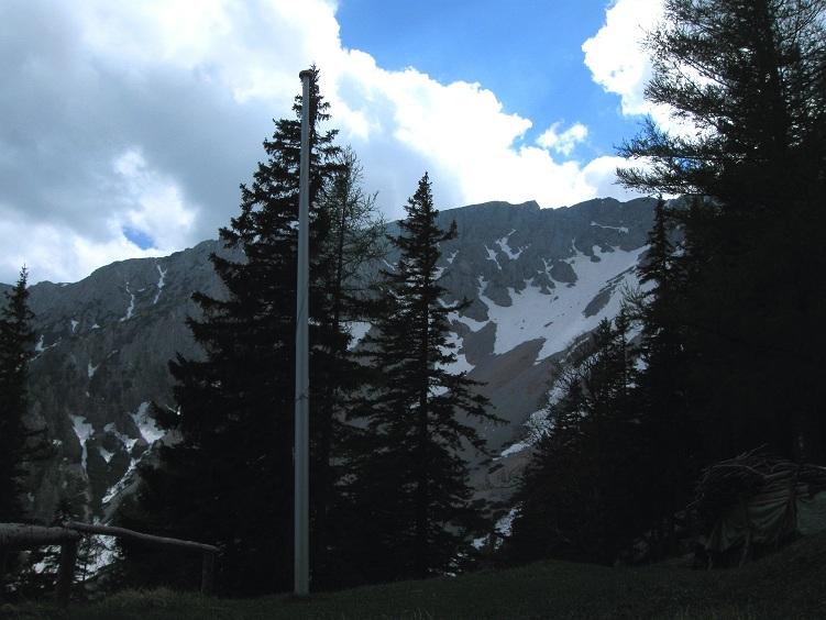 Foto: Andreas Koller / Klettertour / Nandlgrat auf das Schneebergplateau (1974m) / 21.05.2012 23:28:04