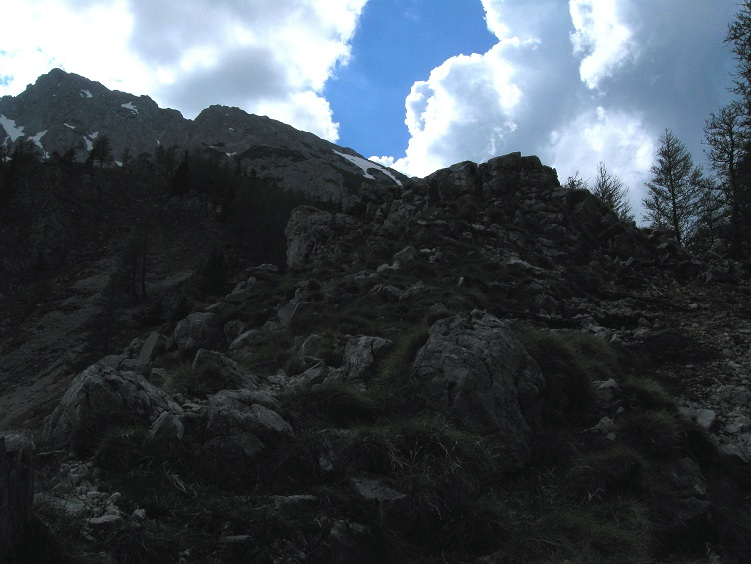 Foto: Andreas Koller / Klettertour / Nandlgrat auf das Schneebergplateau (1974m) / 21.05.2012 23:26:42