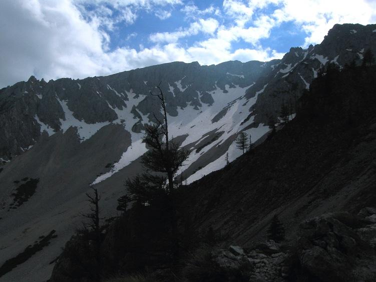 Foto: Andreas Koller / Klettertour / Nandlgrat auf das Schneebergplateau (1974m) / 21.05.2012 23:26:35