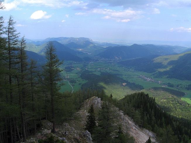 Foto: Andreas Koller / Klettertour / Nandlgrat auf das Schneebergplateau (1974m) / 21.05.2012 23:25:06