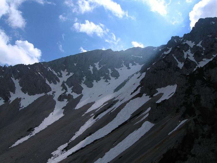 Foto: Andreas Koller / Klettertour / Nandlgrat auf das Schneebergplateau (1974m) / 21.05.2012 23:24:45