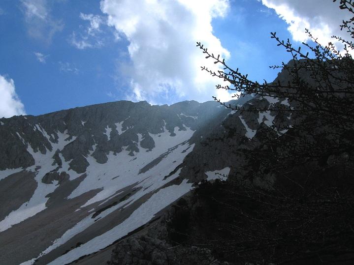 Foto: Andreas Koller / Klettertour / Nandlgrat auf das Schneebergplateau (1974m) / 21.05.2012 23:24:04