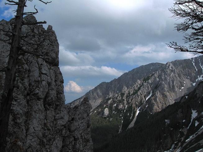 Foto: Andreas Koller / Klettertour / Nandlgrat auf das Schneebergplateau (1974m) / 21.05.2012 23:23:52