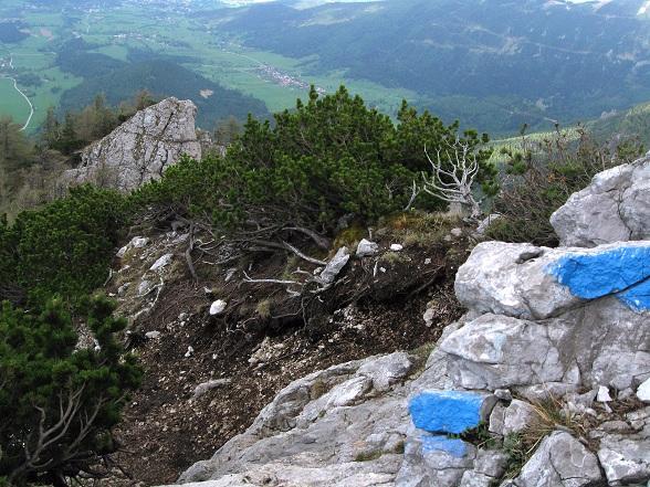 Foto: Andreas Koller / Klettertour / Nandlgrat auf das Schneebergplateau (1974m) / 21.05.2012 23:23:42