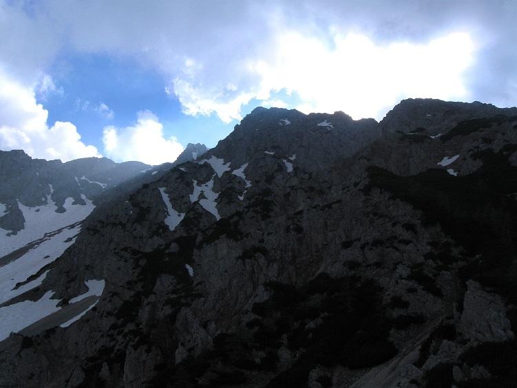 Foto: Andreas Koller / Klettertour / Nandlgrat auf das Schneebergplateau (1974m) / 21.05.2012 23:23:02