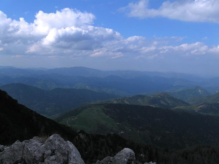 Foto: Andreas Koller / Klettertour / Nandlgrat auf das Schneebergplateau (1974m) / 21.05.2012 23:21:04