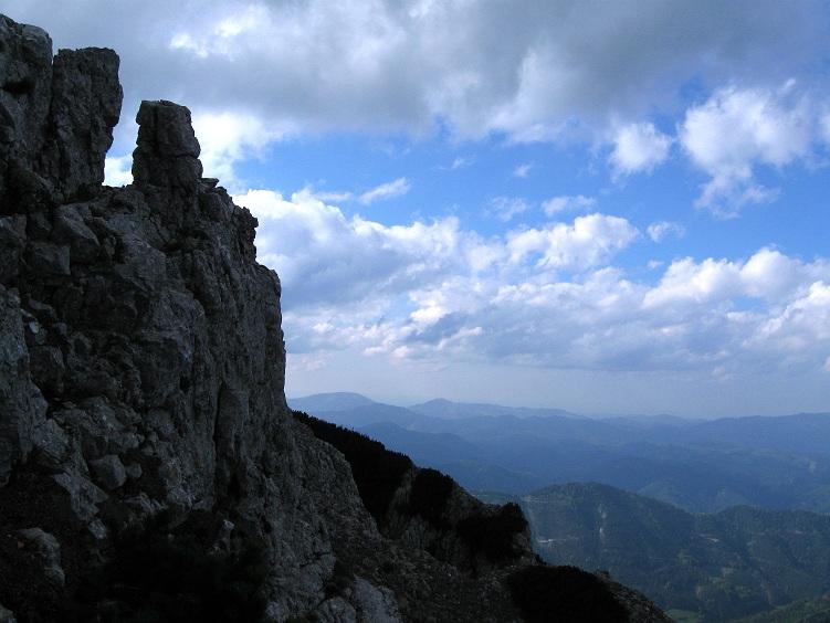 Foto: Andreas Koller / Klettertour / Nandlgrat auf das Schneebergplateau (1974m) / 21.05.2012 23:20:28
