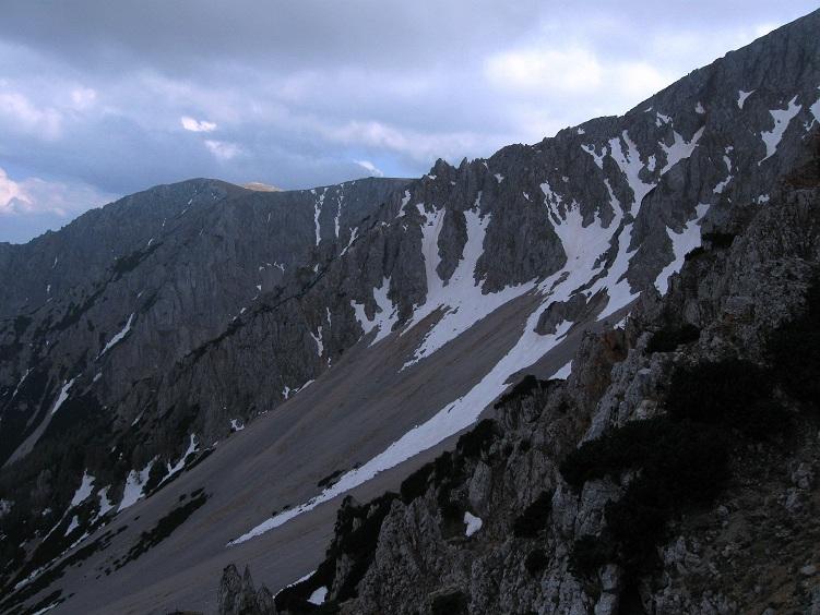 Foto: Andreas Koller / Klettertour / Nandlgrat auf das Schneebergplateau (1974m) / 21.05.2012 23:20:19