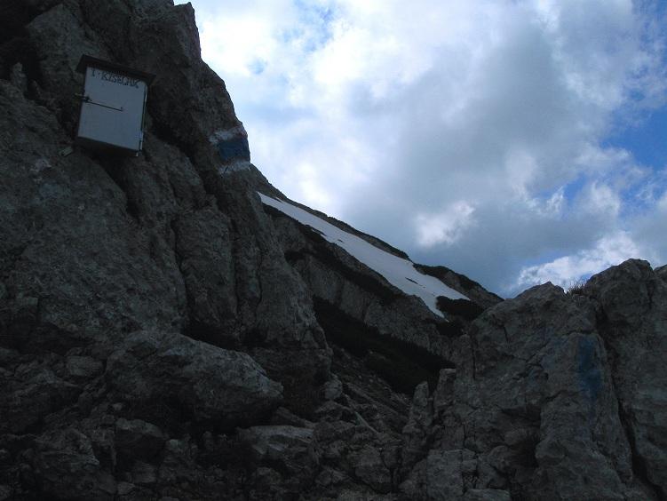 Foto: Andreas Koller / Klettertour / Nandlgrat auf das Schneebergplateau (1974m) / 21.05.2012 23:19:51