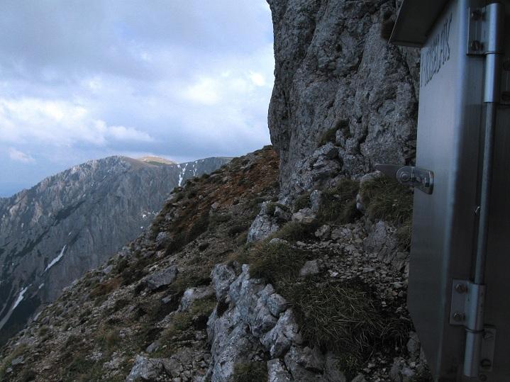 Foto: Andreas Koller / Klettertour / Nandlgrat auf das Schneebergplateau (1974m) / 21.05.2012 23:19:30