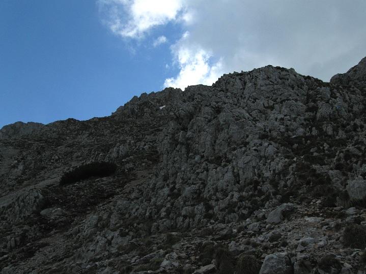 Foto: Andreas Koller / Klettertour / Nandlgrat auf das Schneebergplateau (1974m) / 21.05.2012 23:18:55