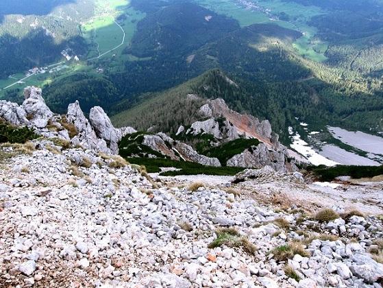 Foto: Andreas Koller / Klettertour / Nandlgrat auf das Schneebergplateau (1974m) / 21.05.2012 23:18:44