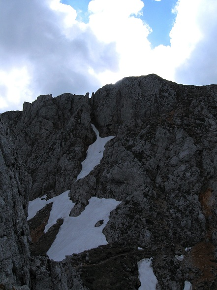 Foto: Andreas Koller / Klettertour / Nandlgrat auf das Schneebergplateau (1974m) / 21.05.2012 23:18:02