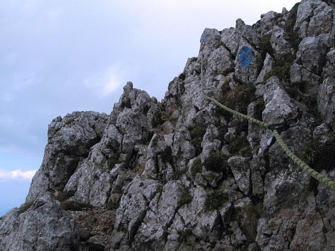 Foto: Andreas Koller / Klettertour / Nandlgrat auf das Schneebergplateau (1974m) / 21.05.2012 23:17:41