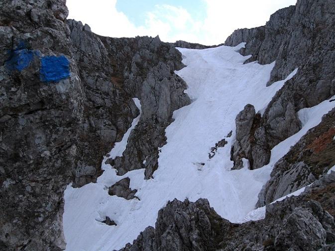 Foto: Andreas Koller / Klettertour / Nandlgrat auf das Schneebergplateau (1974m) / 21.05.2012 23:17:30