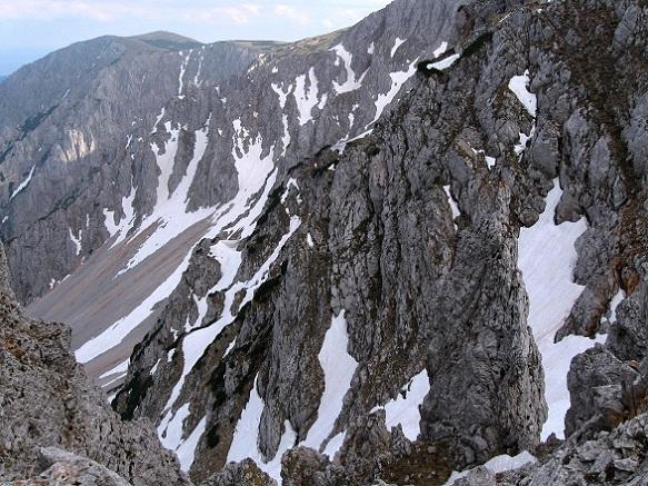 Foto: Andreas Koller / Klettertour / Nandlgrat auf das Schneebergplateau (1974m) / 21.05.2012 23:17:04