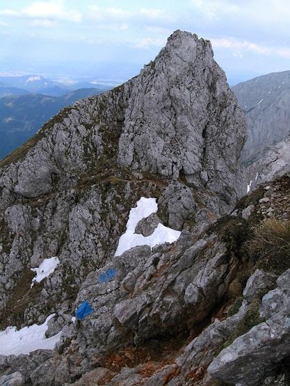 Foto: Andreas Koller / Klettertour / Nandlgrat auf das Schneebergplateau (1974m) / 21.05.2012 23:16:06