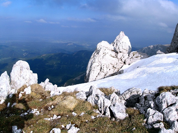Foto: Andreas Koller / Klettertour / Nandlgrat auf das Schneebergplateau (1974m) / 21.05.2012 23:12:11