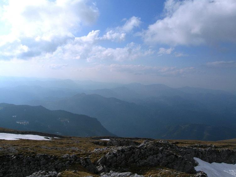 Foto: Andreas Koller / Klettertour / Nandlgrat auf das Schneebergplateau (1974m) / 21.05.2012 23:09:17
