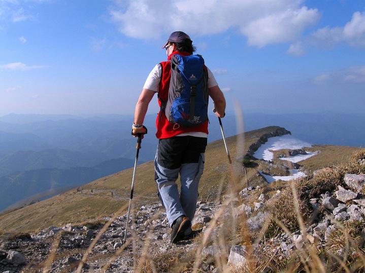 Foto: Andreas Koller / Klettertour / Nandlgrat auf das Schneebergplateau (1974m) / Abstieg / 21.05.2012 23:08:45
