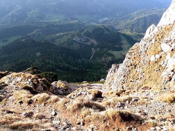 Foto: Andreas Koller / Klettertour / Nandlgrat auf das Schneebergplateau (1974m) / Abstieg am Fadensteig / 21.05.2012 23:06:59