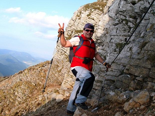 Foto: Andreas Koller / Klettertour / Nandlgrat auf das Schneebergplateau (1974m) / 21.05.2012 23:05:17