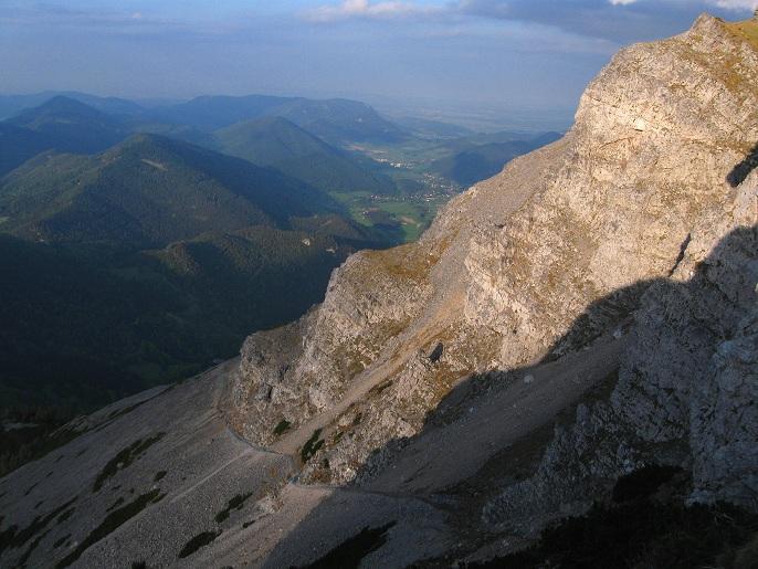 Foto: Andreas Koller / Klettertour / Nandlgrat auf das Schneebergplateau (1974m) / 21.05.2012 23:05:08