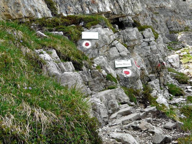Foto: vince 51 / Wandertour / Reuttener Höhenweg / Abzweig zum Reuttener Höhenweg vom Knittelkarspitze-Aufstieg / 11.07.2012 22:08:49