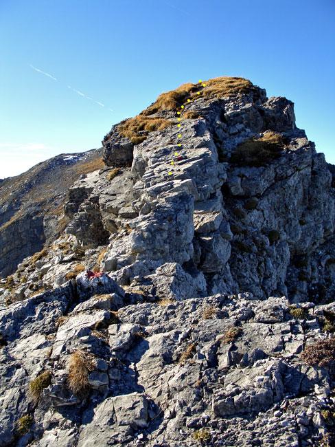 Foto: vince 51 / Wandertour / Reuttener Höhenweg / Aufstieg zur Knittelkarspitze / 11.07.2012 22:05:25