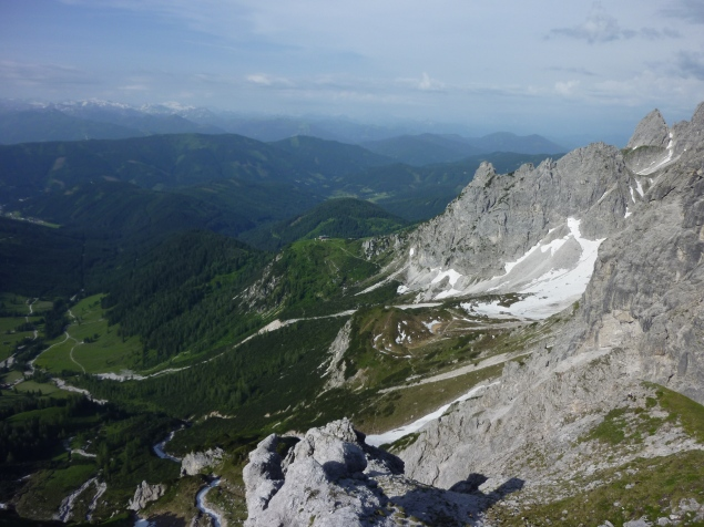 Foto: Manfred Karl / Wandertour / Mitterkogel über den Steiglpass / 15.07.2012 21:50:29