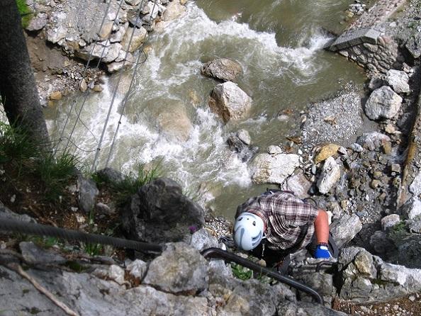 Klettersteig Johnsbach : Fotogalerie tourfotos fotos zur klettersteig tour alpinpark