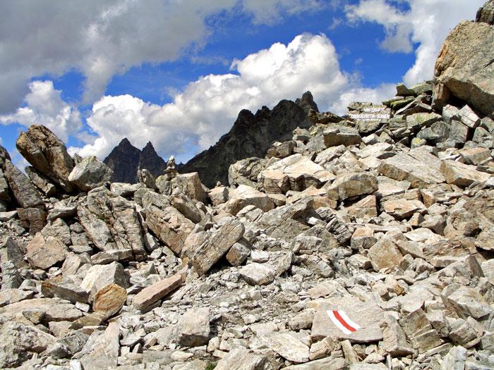 Foto: vince 51 / Wandertour / Sonntagsspitze / Klosterpass, im Hintergrund Gross Seehorn und Gross Litzner / 31.08.2012 20:57:11