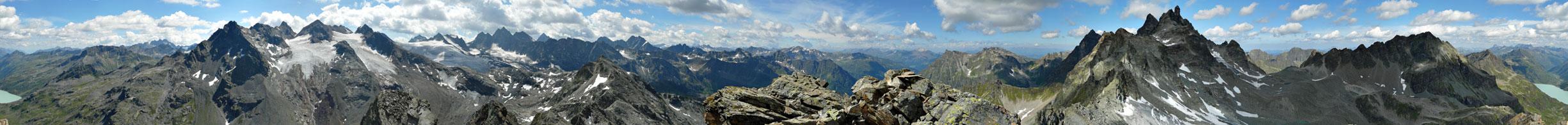 Foto: vince 51 / Wandertour / Sonntagsspitze / 360°  Panorama / 31.08.2012 20:45:10