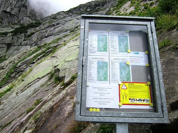 Klettersteig Uri : Klettersteige sulzfluh km bergwelten