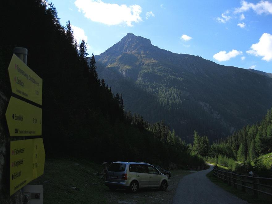 Foto: Andreas Koller / Wandertour / Goldbergspitze aus dem Großen Zirknitztal (3073m) / Ausgangspunkt Wanderparkplatz Große Zirknitz / 22.09.2012 01:53:48