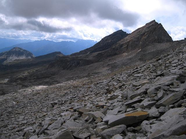 Foto: Andreas Koller / Wandertour / Goldbergspitze aus dem Großen Zirknitztal (3073m) / Abstieg von der Goldbergspitze / 22.09.2012 01:42:11