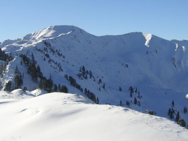 Foto: Wolfgang Lauschensky / Ski Tour / Riesnerkrispen über Mörsbachtal / Kamm vom Riesnerkrispen zum Bärneck / 23.12.2012 16:06:41