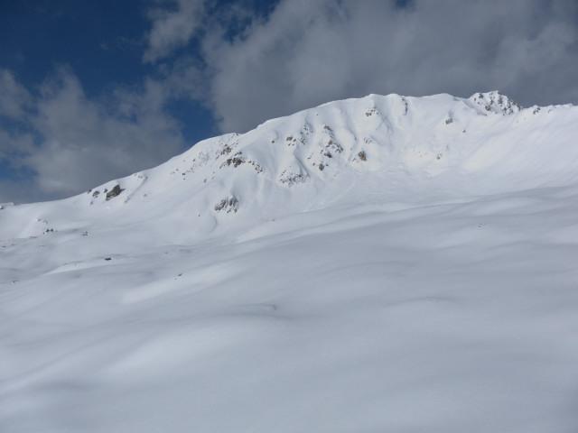Foto: Wolfgang Lauschensky / Skitour / Mislkopf über Mislböden    / Mislkopf vom Hirschstein / 19.02.2013 18:02:03