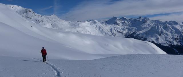 Foto: Wolfgang Lauschensky / Skitour / Mislkopf über Mislböden    / Mislböden / 19.02.2013 18:00:34