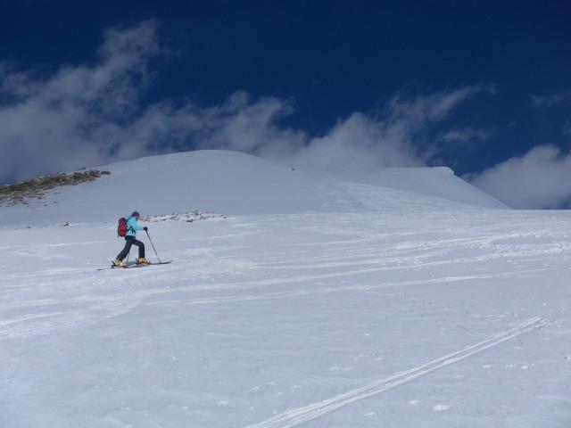 Foto: Wolfgang Lauschensky / Skitour / Mislkopf über Mislböden    / unter dem Westgrat / 19.02.2013 17:59:57