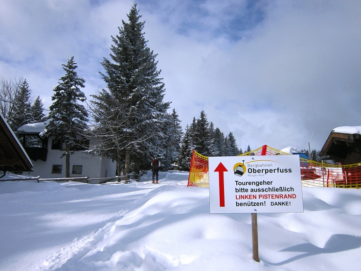 Foto: Andreas Koller / Skitour / Lawinensicher aufs Rangger Köpfl (1939m) / Klare Anweisungen / 22.02.2013 22:14:01
