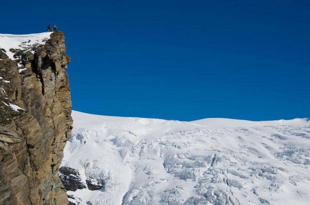 Foto: Wolfgang Lauschensky / Skitour / Kleiner Burgstall (2709m bzw.  2718m) / Hufeisenbruch und Kleiner Burgstall (Westgipfel) / 25.05.2013 10:43:33