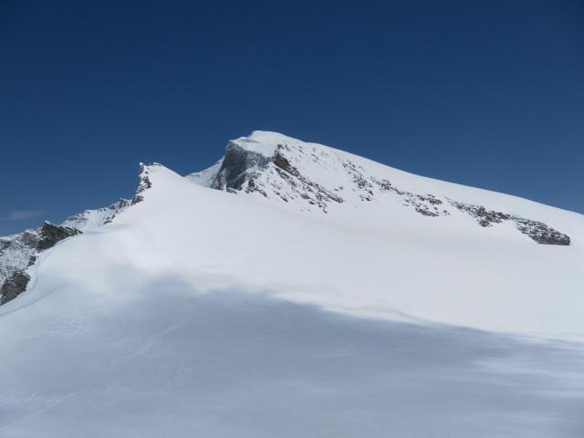 Foto: Wolfgang Lauschensky / Skitour / Ödenwinkelschartenkopf  (3261m) / Ödenwinkelschartenkopf links vor Johannisberg  / 25.05.2013 11:29:19