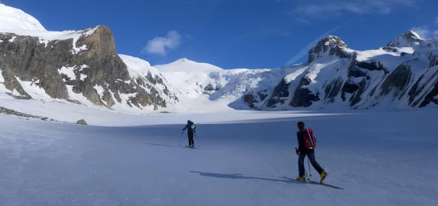 Foto: Wolfgang Lauschensky / Skitour / Ödenwinkelschartenkopf  (3261m) / auf der Pasterzenzunge / 25.05.2013 11:29:11